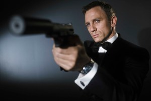 "Daniel Craig as ""James Bond"""