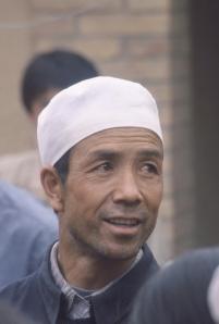 The village imam, my kindred spirit on the edge of Inner Mongolia.